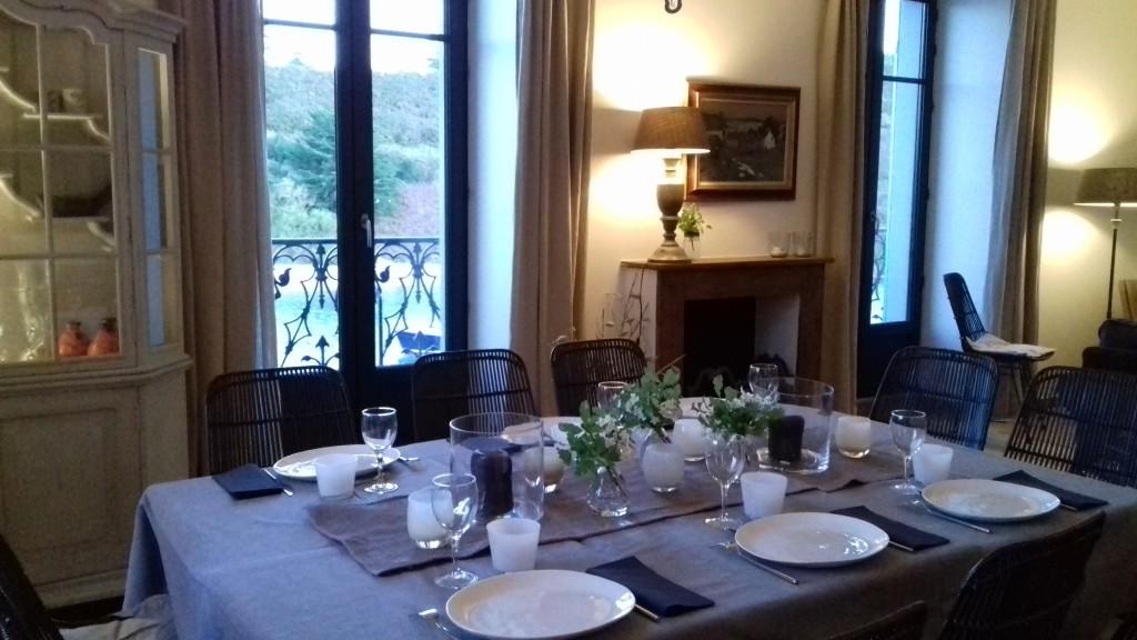 convivialité séminaire réception villa pen prad