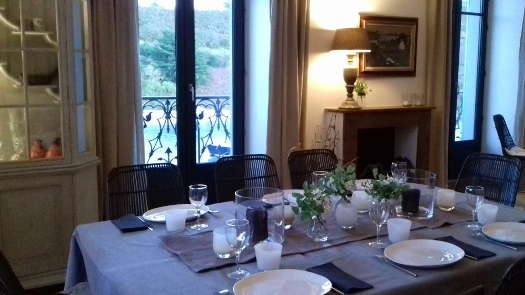 convivialité réception séminaire villa pen prad