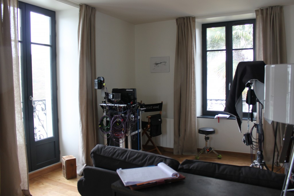 tournage film villa pen prad