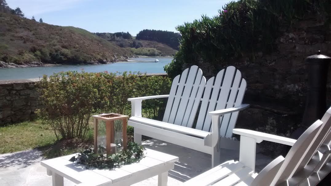Le jardin villa pen prad for Chambre d hotes belle ile en mer